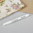 Маркер для ткани самоисчезающий, цвет белый