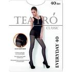 Колготки женские Everyday 40 den, цвет чёрный (nero), размер 3
