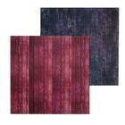 Фотофон двусторонний «Тёмные доски», 45 х 45 см, картон 100 г/м
