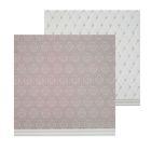 Фотофон двусторонний «Стёганая ткань», 45 × 45 см, переплётный картон, 980 г/м