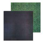 Фотофон двусторонний «Грифельная доска‒трава», 45 × 45 см, переплётный картон,980 г/м