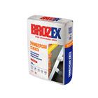Смесь штукатурная для наружных и внутренних работ Brozex М100, 25 кг