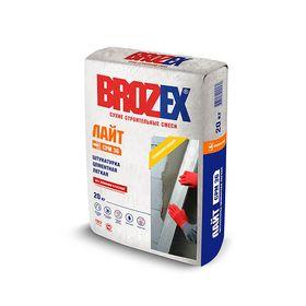 Легкая штукатурка для стен Brozex ШС-36, 20 кг