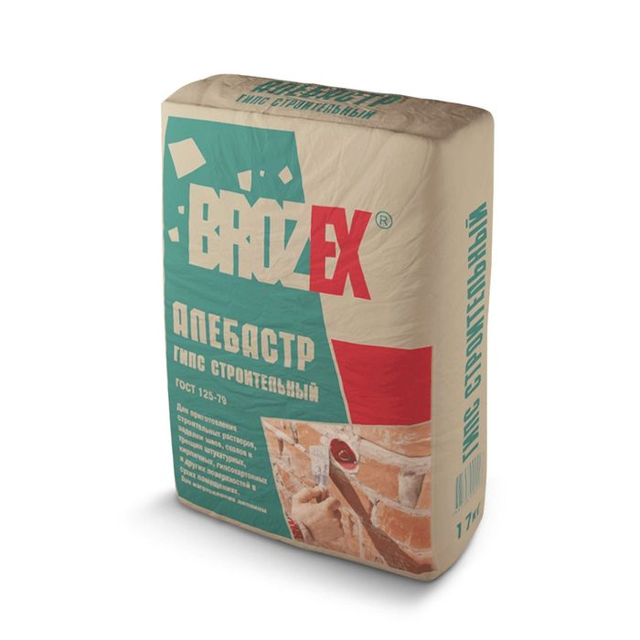 Алебастр Brozex, 1,5 кг