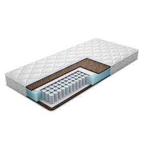 Матрас Eco Hard, размер 120х190 см, высота 16 см, чехол жаккард-эко