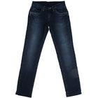 Джинсы для девочки, рост 128 см, цвет синий 8103 3570