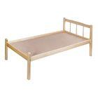 Кровать детская из массива, цвет берёза