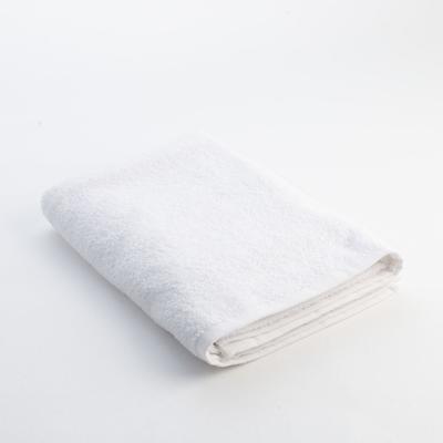 """Полотенце махровое """"Экономь и Я"""" 30х30 см белый, 100% хлопок, 340 г/м2"""