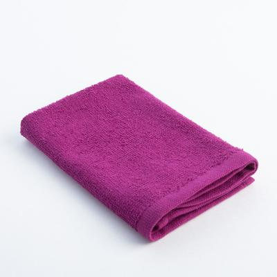 "Terry towel ""and I Save"" 30x30 cm fuchsia, 100% cotton, 340 g/m2"