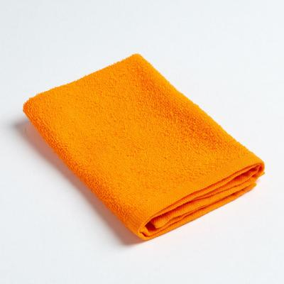 "Terry towel ""and I Save"" 30x30 cm orange, 100% cotton, 340 g/m2"