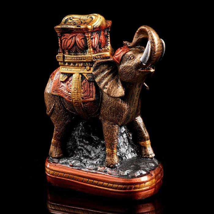 """Сувенир """"Слон"""" 27 см, бронзовый цвет, микс"""
