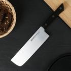 Нож кухонный сантоку Samura Harakiri Накири, лезвие 16,1 см, сталь AUS-8 - фото 308007450