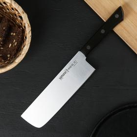 Нож кухонный сантоку Samura Harakiri Накири, лезвие 16,1 см, сталь AUS-8