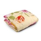 Одеяло облегченное Веста, ФПТ-О-15, 140*205, 200г/м, холлофайбер, ткань п/э, цвет микс