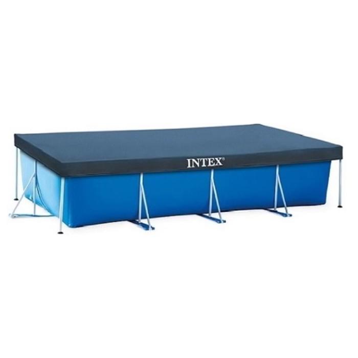 Тент на прямоугольный каркасный бассейн 300 х 201 см, 28038 INTEX