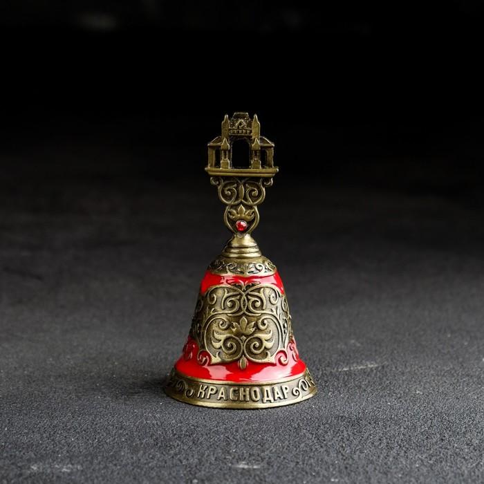 Колокольчик «Краснодар», цветная эмаль