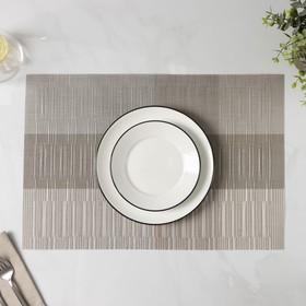 """Салфетка кухонная 45х30 см """"Восток"""", цвет серый"""