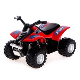 Машина металлическая Smart ATV, инерция, МИКС