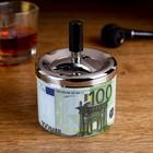 """Ashtray smokeless """"100 Euro"""", 9x12 cm"""