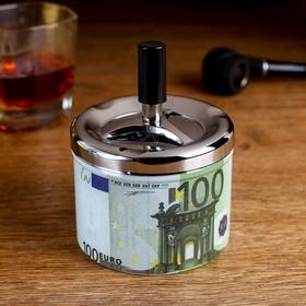 Пепельница бездымная 'Валюта. 100 Евро' Ош