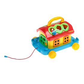 Игрушка «Сказочный домик на колёсиках»