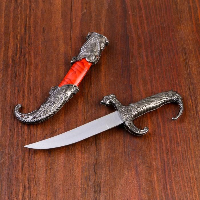 Сувенирный нож, 23 см, рукоять в форме дракона
