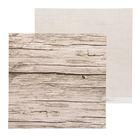Бумага для скрапбукинга Naturals, Досочки 30,5 х 30,5 см 180 гр/м