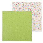 Бумага для скрапбукинга «Звёздочки», 30.5 × 30.5 см, 180 г/м