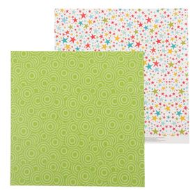 """Paper for scrapbooking """"Star"""", 30.5 × 30.5 cm, 180 g/m"""