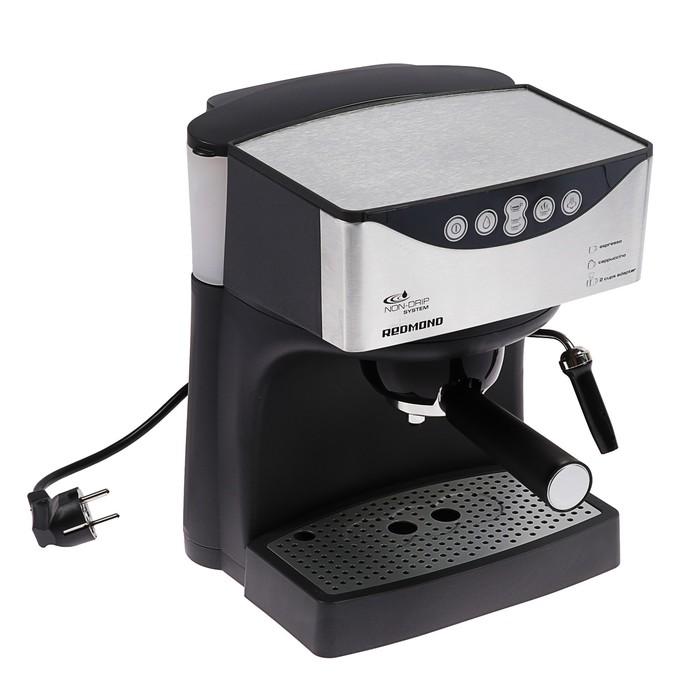Кофеварка Redmond RСM-1503, 1150 Вт,  15 бар, 1 л, экспрессо, рожковая