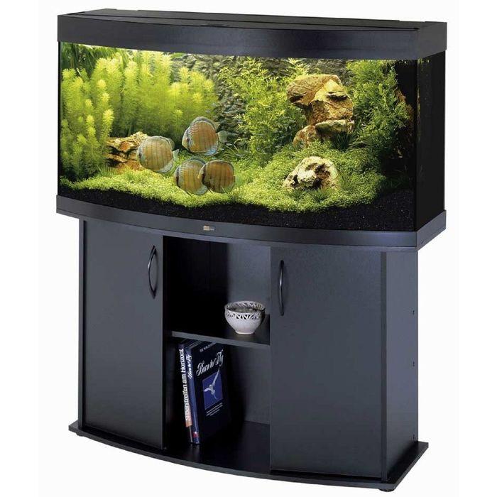 Тумба для аквариума JUWEL Вижн 260 черная 121x46x73см