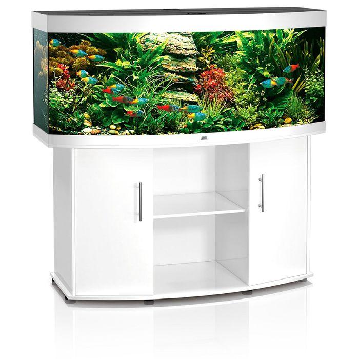 Тумба для аквариума JUWEL Вижн 450 белая 151x61x80см