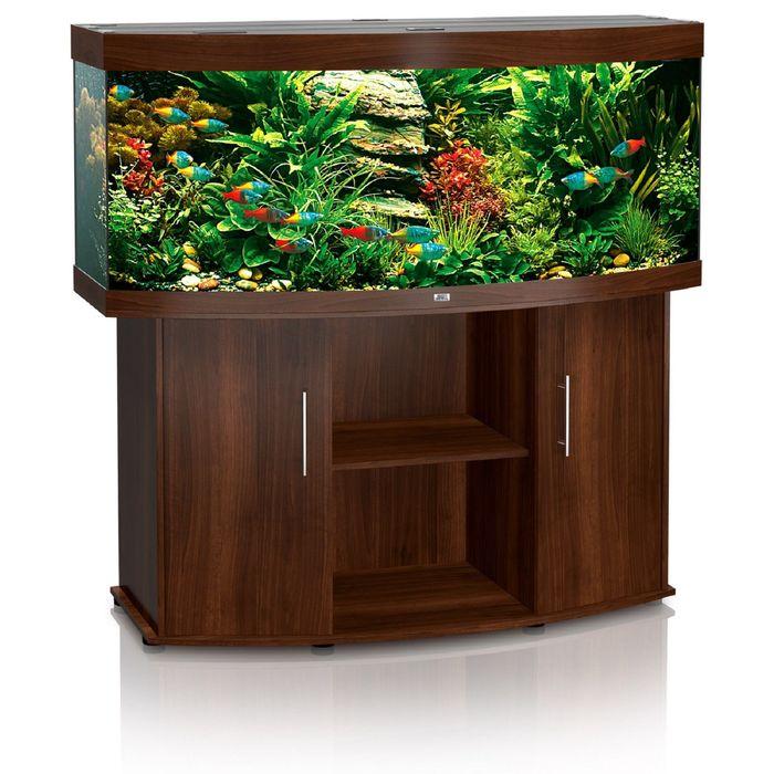 Тумба для аквариума JUWEL Вижн 450 темно-коричневая 151x61x80см