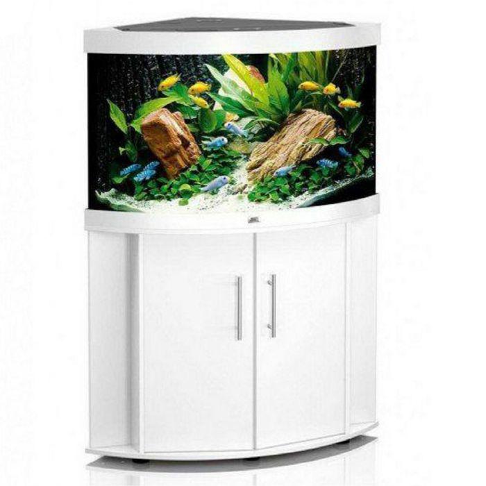Тумба для аквариума JUWEL Тригон 350 белая 123x87/87x65см
