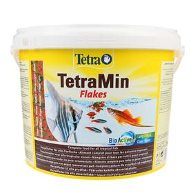 Корм TetraMin для рыб, хлопья, 10 л