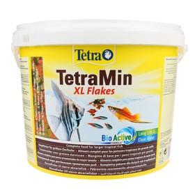 Корм TetraMin XL для рыб, крупные хлопья, 10 л.