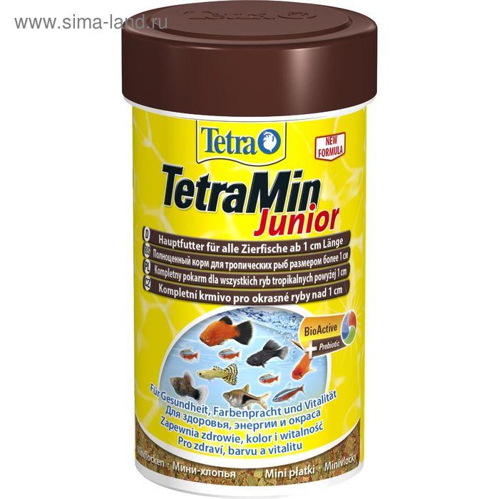 Корм для рыб TetraMin Junior 100мл мелкие хлопья