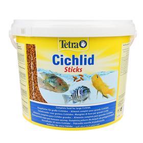 Корм TetraCichlid Sticks для рыб, гранулы, 10 л.