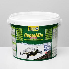 Корм Tetra ReptoMin для рептилий, гранулы, 10 л