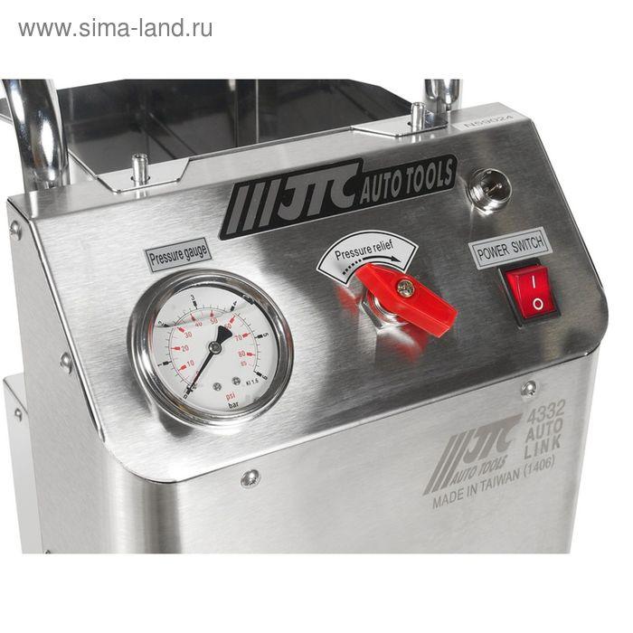 Приспособление JTC, JTC-4332, для прокачки тормозов, с электроприводом