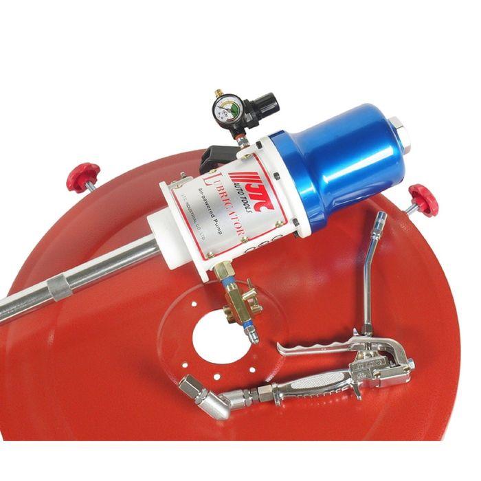 Нагнетатель смазки JTC, JTC-4254, пневматический, для емкости 200 л, шланг 6м