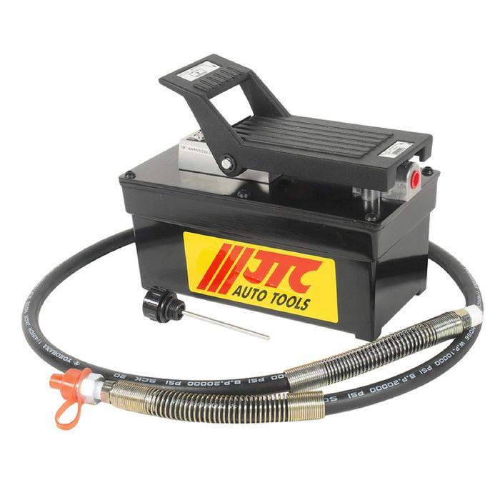 Насос гидравлический JTC, JTC-8P120, пнев.привод, 257x127x204 мм,