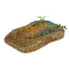 Плот для черепах с присоской плавающий, 30 х 15 см