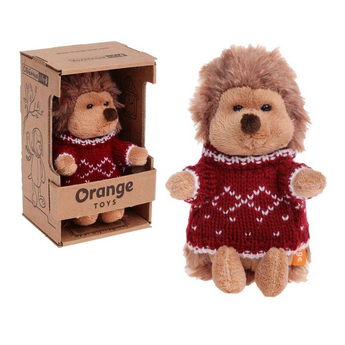 Мягкая игрушка «Ёжик Колюнчик» в свитере - фото 106550374