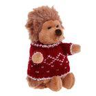 Мягкая игрушка «Ёжик Колюнчик» в свитере - фото 106550376