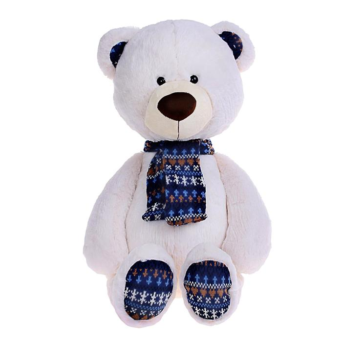Мягкая игрушка «Медведь Снежок» - фото 725169490