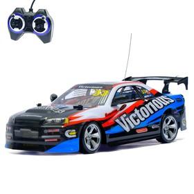 Машина радиоуправляемая «Гонка», с аккумулятором, дрифт эффект, 1:14, МИКС