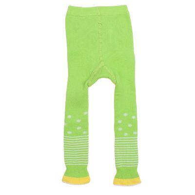 Легинсы детские плюшевые ПЛС16, цвет салатовый, рост 74-80 см