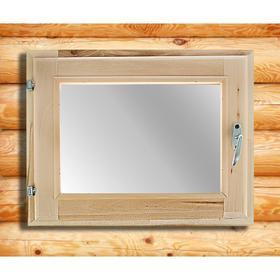 Окно, 40×50см, двойное стекло, из липы