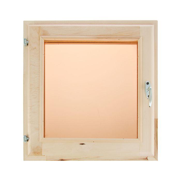 Окно 50х50 см, двойное стекло, тонированное